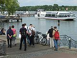 Am Hafen in Neuruppin (W. Linder)